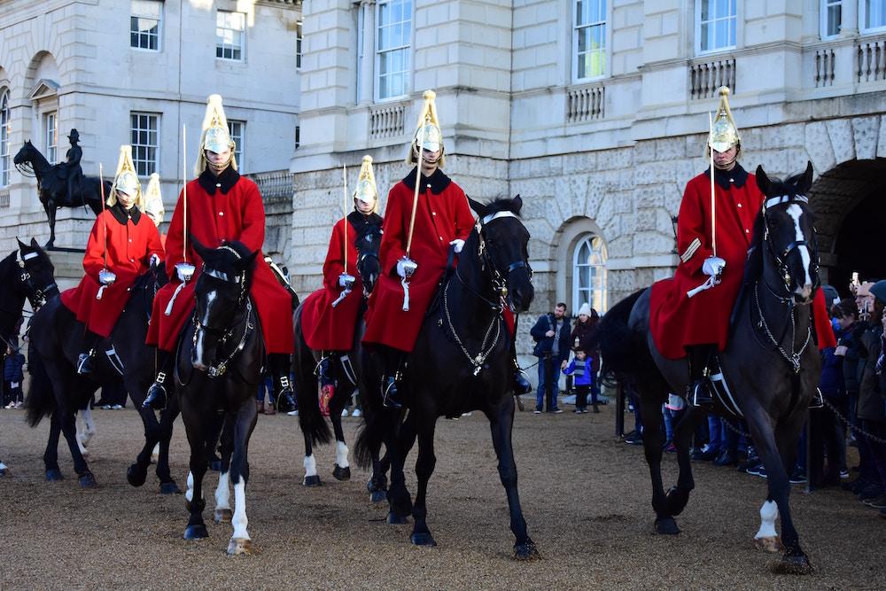 guardie inglesi