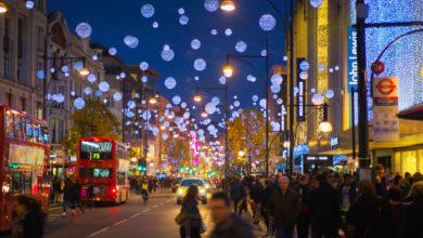 Londra sotto Natale