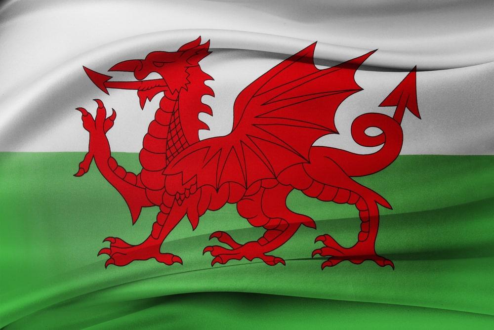 bandiera del Galles